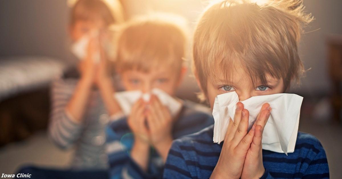 Почему у всех вдруг аллергия…