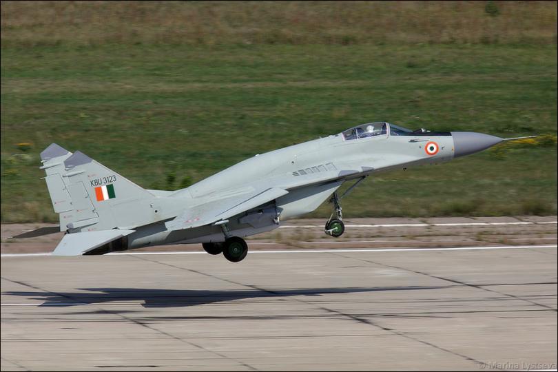 Индия заказала у России истребители МиГ-29