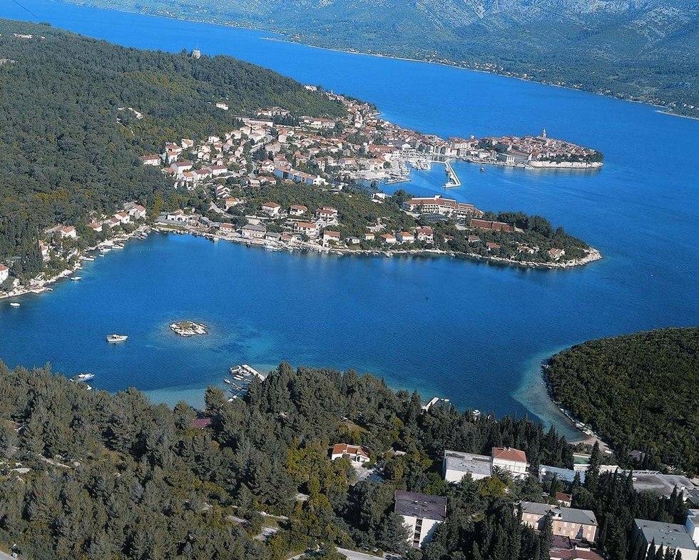 Корчула - один из красивейших островов Адриатики (Хорватия)