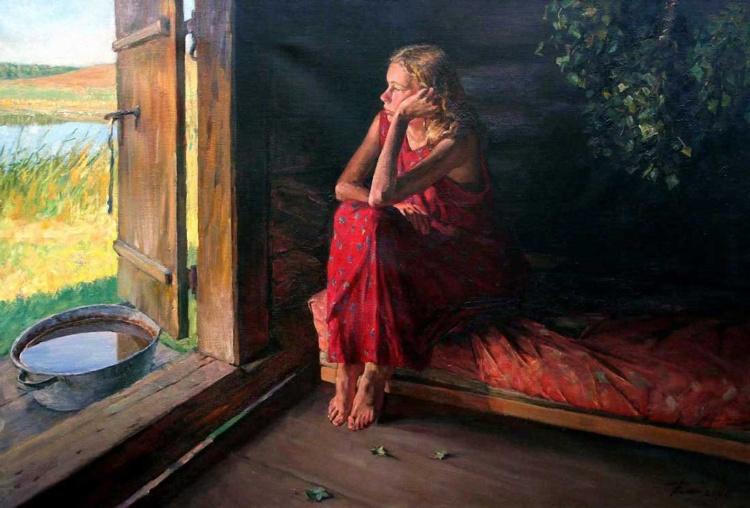 Российский художник Григорий Чайников (1960 – 2008)