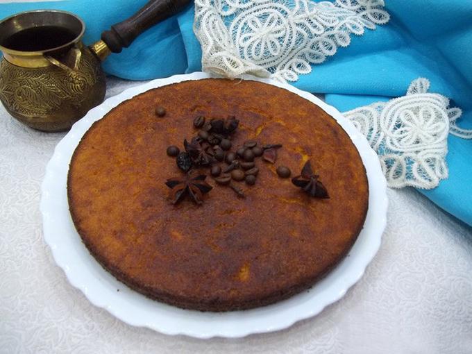 Кекс на манке «Цитрусово-тыквенный» - Smak.ua