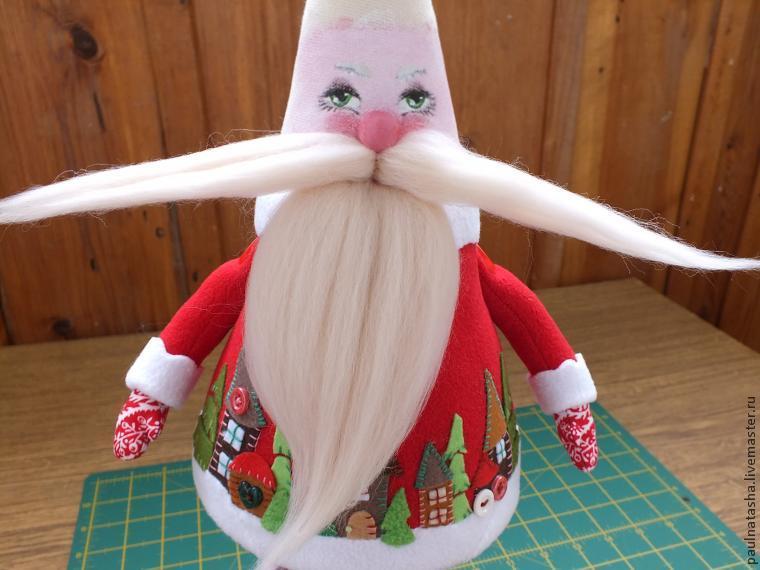 Дед мороз шитый своими руками