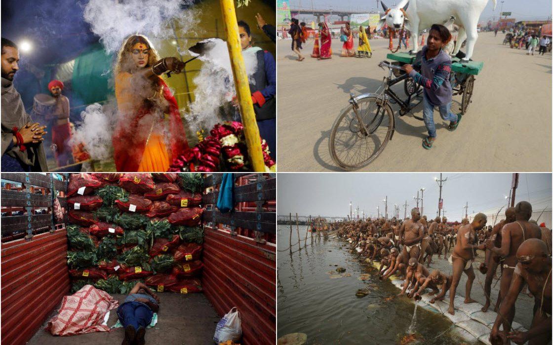 Февральские фотографии из Индии