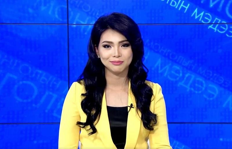 Монгольская телеведущая и русские скороговорки. ВИДЕО