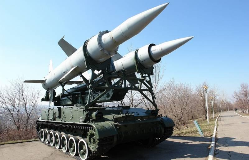 Зенитно-ракетный комплекс «Круг». Инфографика