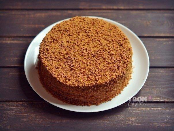 Всеми любимый и очень вкусный торт «Рыжик». Пальчики оближешь!