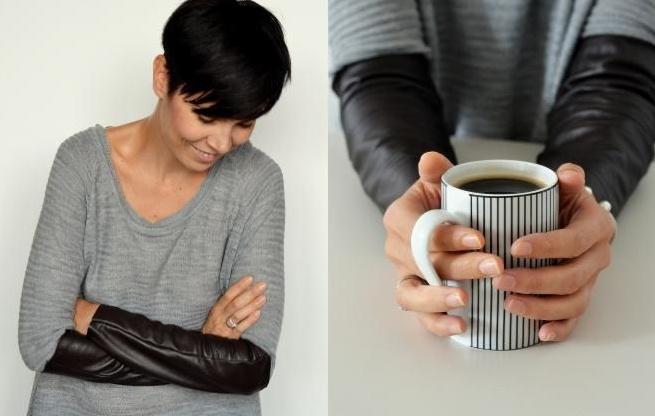 Кожаные рукава (Diy)