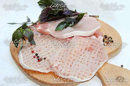 Свиные отбивные на ужин
