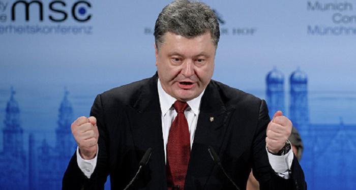 Порошенко грозит новыми санкциями за поставку товаров из Донбасса в Россию