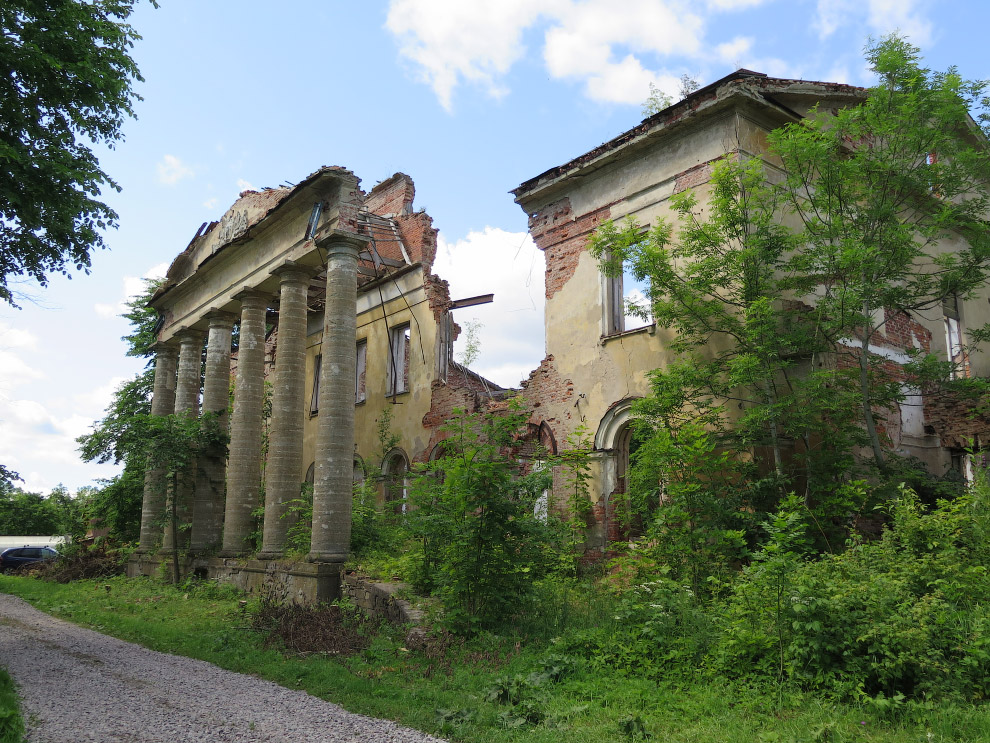 Усадьба Альбрехтов, Ленинградская область