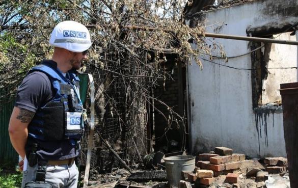 Беспилотник миссии ОБСЕ был сбит после того, как зафиксировал передвижение ракетного комплекса на Донбассе