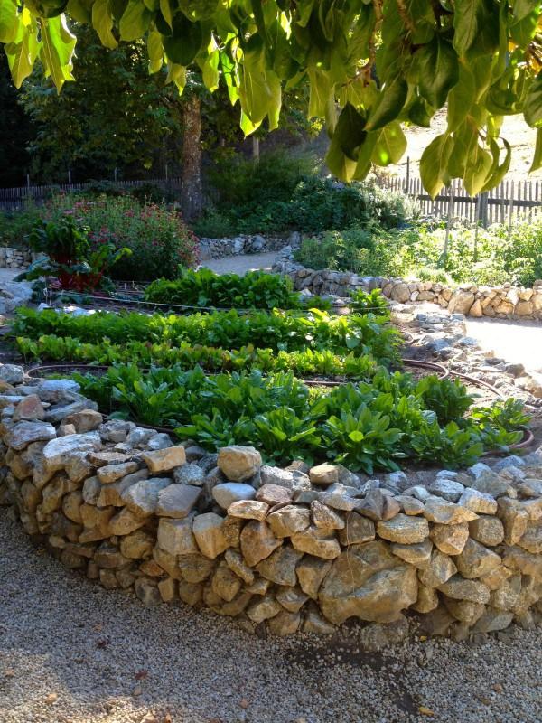 Огород из камней своими руками 893