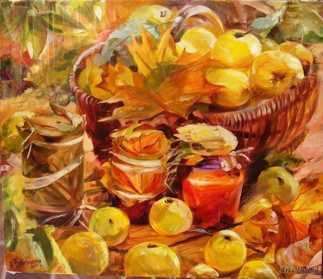 «Скоро осень, за окнами август…» — подборка картин современных художников