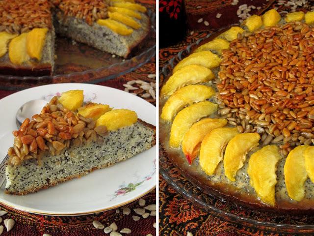 Маковый пирог «Подсолнух»