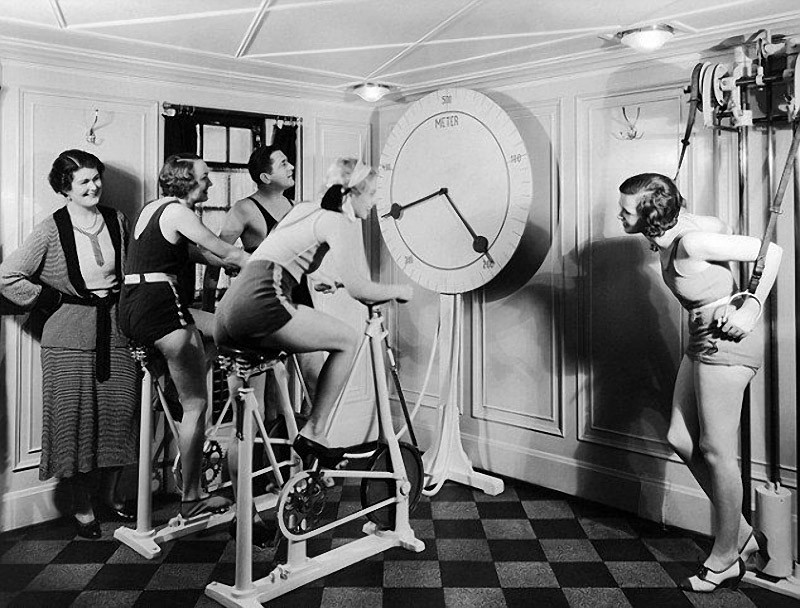 fitness04 Как выглядел фитнес начала ХХ века