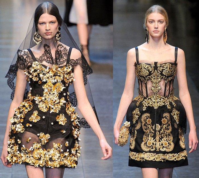 Dolce & Gabbana стиль барокко фото
