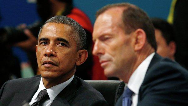 """Обама назвал позицию России по Украине """"угрозой для мира"""""""