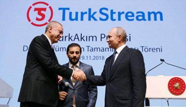 Владимир Путин дал старт морскому участку «Турецкого потока»