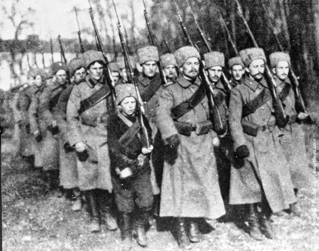 World War 1 Russian Soldiers
