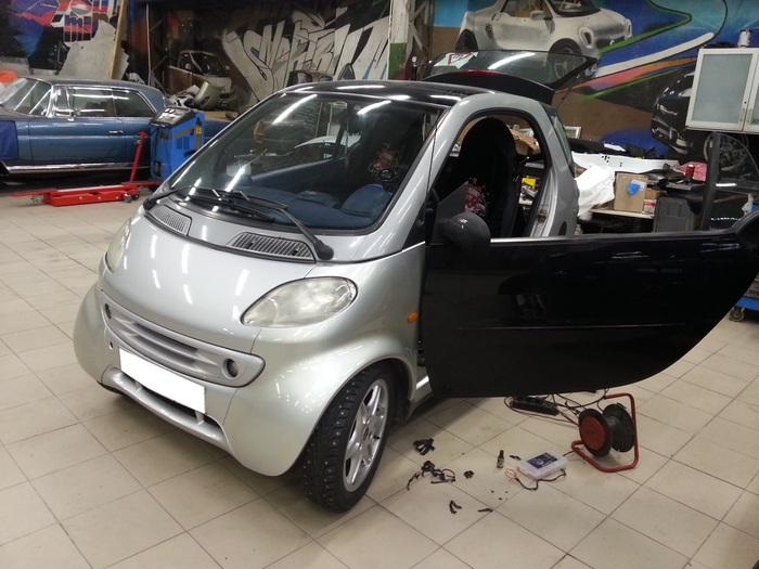 Как владельцы мешают своим машинам работать. Smart 450