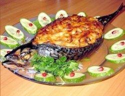Запеченная скумбрия - нежная рыбка в духовке