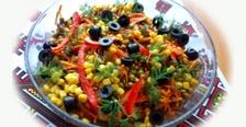 Салат из морской капусты и моркови по-корейски