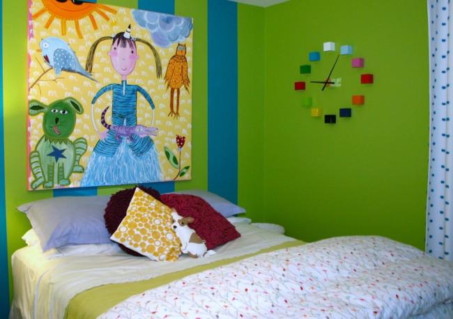 Как можно украсит детскую комнату