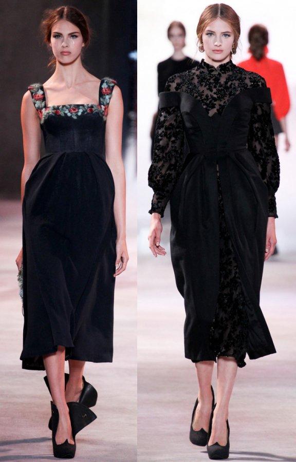 Модный обзор — лучшие платья из разных коллекций Ульяны Сергеенко