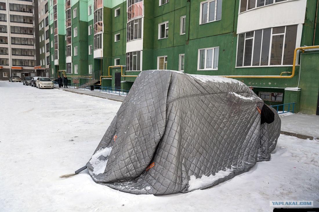 """Портативный гараж """"Наташа"""""""