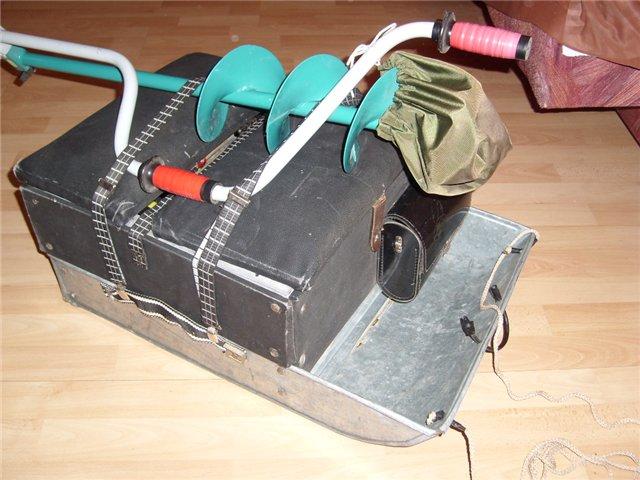 Ящик для зимней рыбалки своими руками. Как сделать ящик для зимней рыбалки