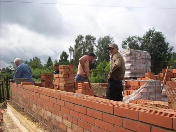 Первый этап строительства 2009 год