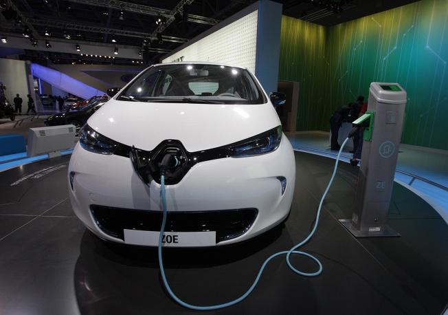 Renault ZOE с электрическим двигателем
