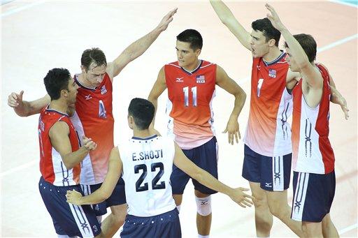 Сборная США обыграла бразильцев в финале Мировой лиги