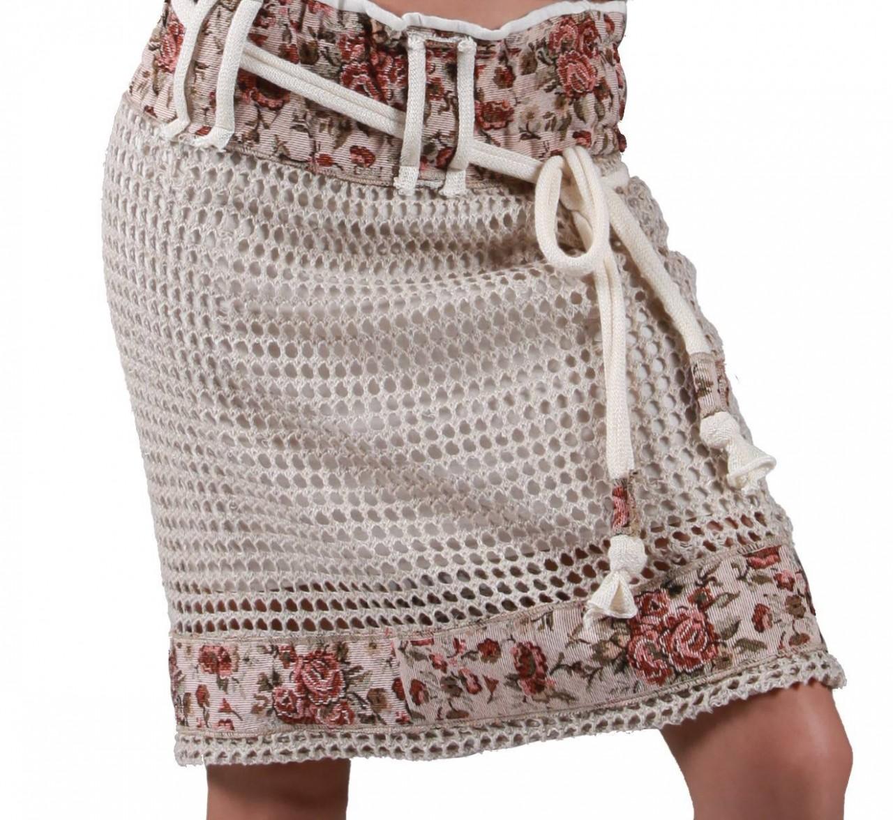 Ткань + вязание: хитовая летняя комбинация