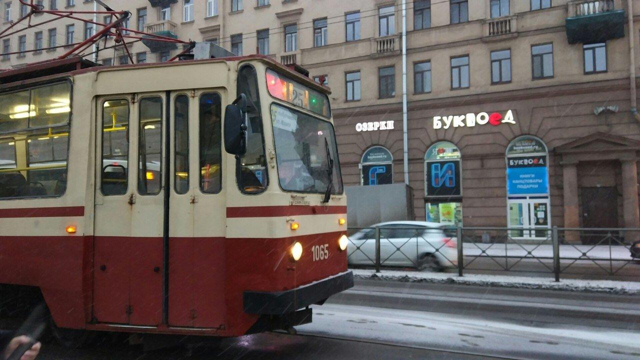 В Петербурге некоторые трамваи изменят маршруты