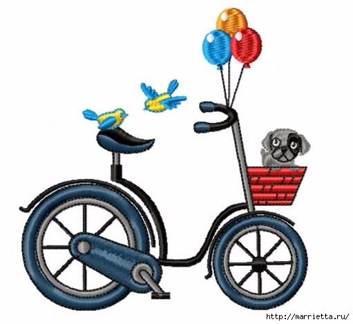 Вышиваем велосипед. Идеи со схемами (58) (511x469, 119Kb)