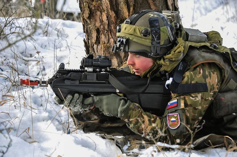 Военные из Словении замерзли на манёврах в Норвегии