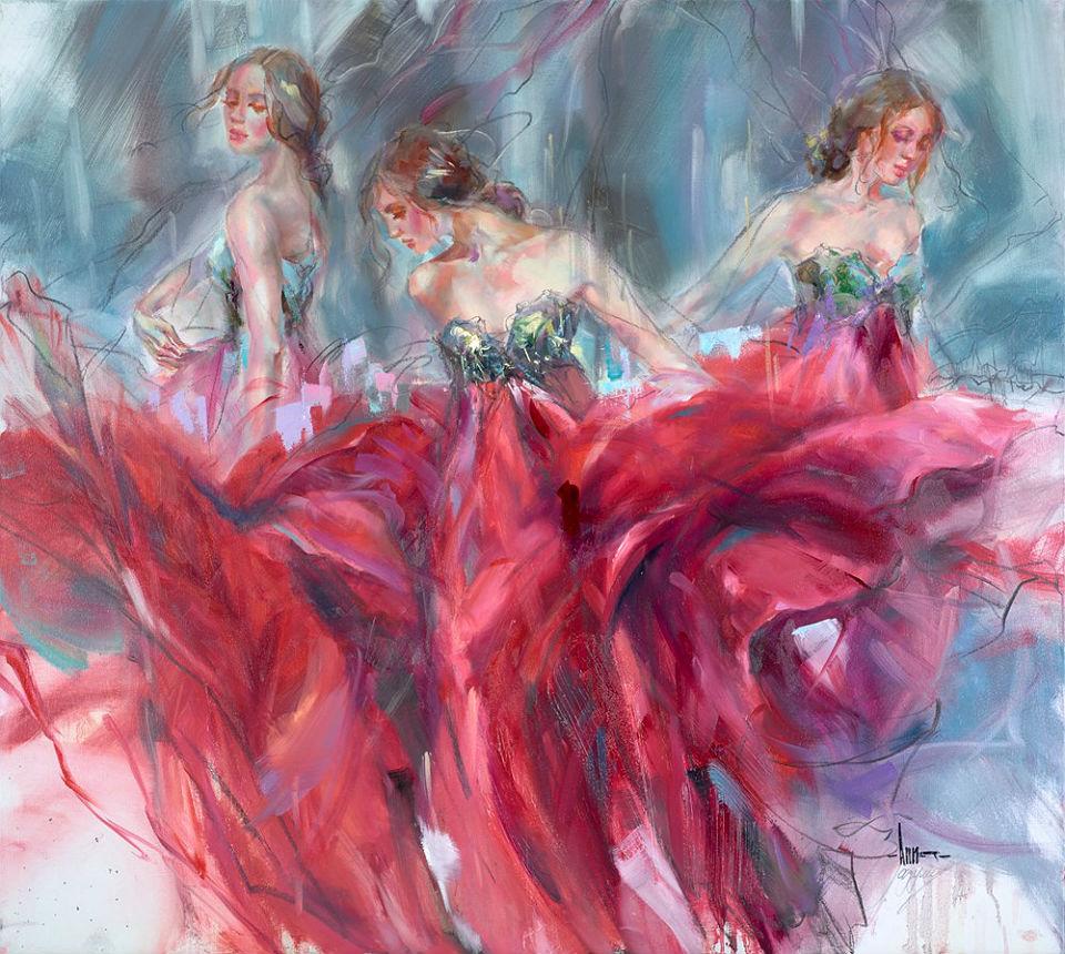 Женщина счастлива, когда живёт танцуя…
