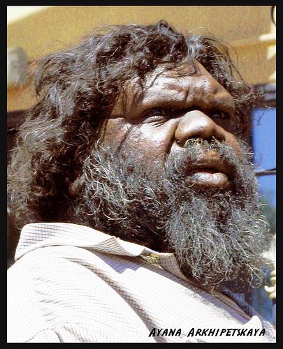 Австралийский абориген (СЕРГЕЙ ГЕОРГ СРЕТЕНСКИЙ)