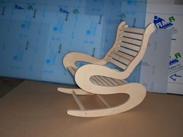 Фото качающейся мебели из фанеры