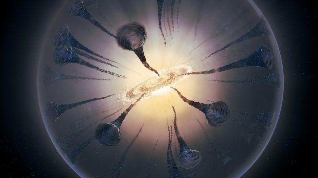 Рецепт темной материи может включать сверхкритическую жидкость