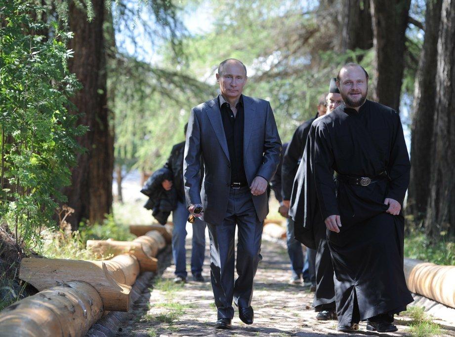 Дорога России к Богу: на канале «России-1» состоится показ документальной киноленты «Валаам» с участием Путина