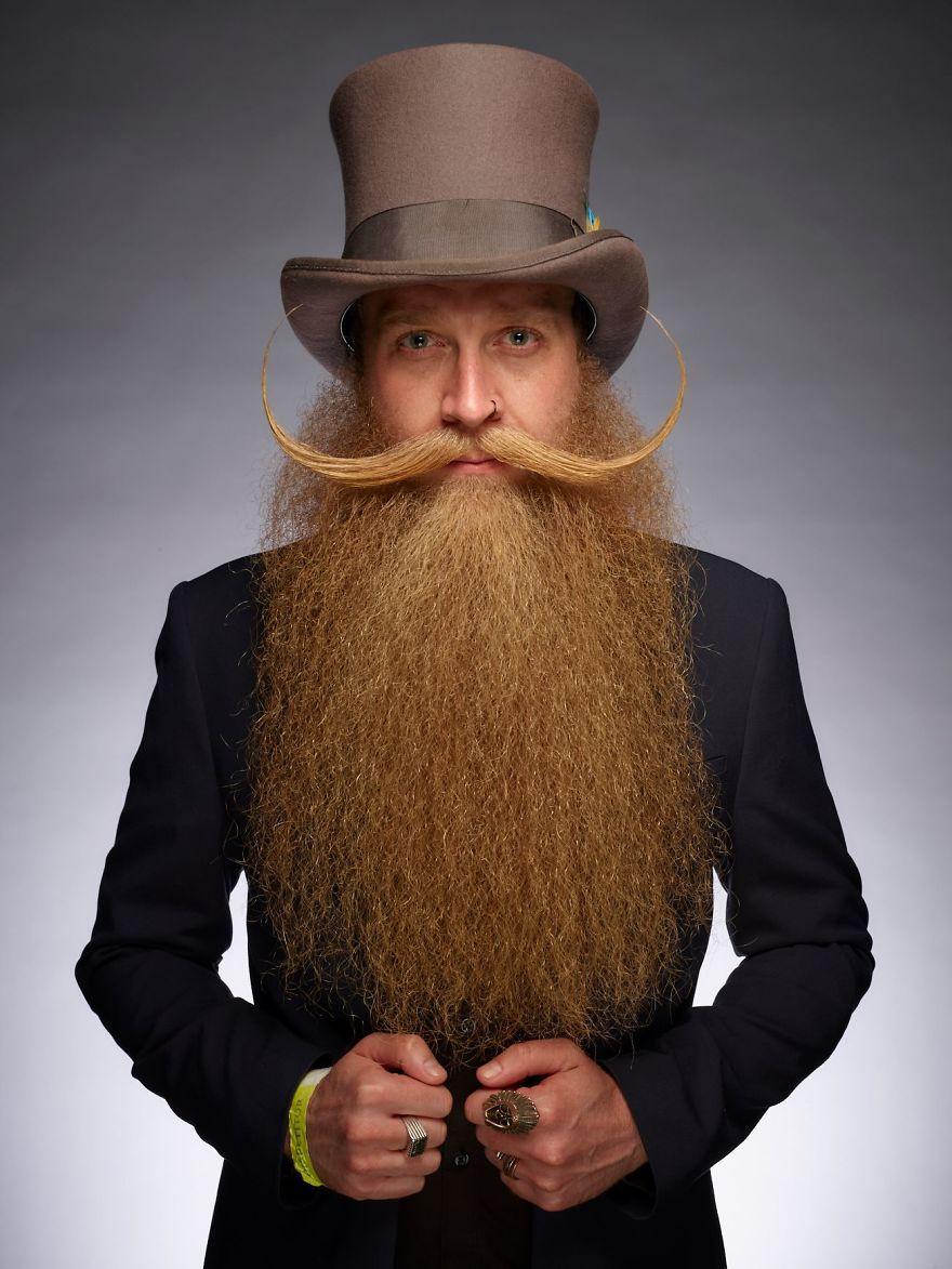 Мотай на ус: фотографии самых замысловатых бород с World Beard and Moustache Championship 2017 года