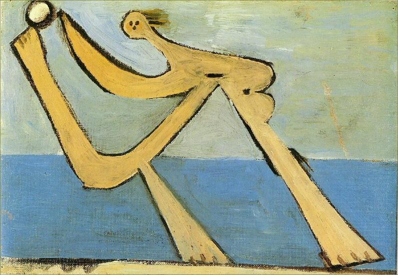 Пабло Пикассо. Купальщицы 4. 1928 год