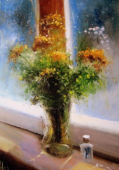 Медведев Игорь. Вечерние цветы