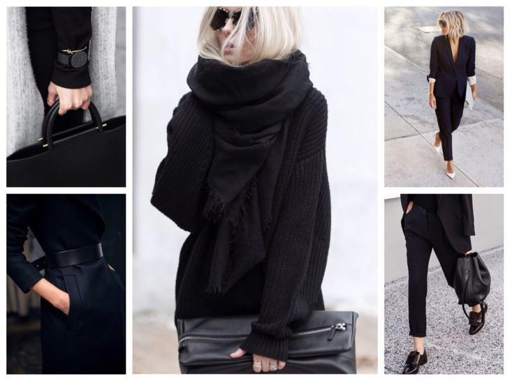 Черный цвет в одежде: за и против, с чем сочетать