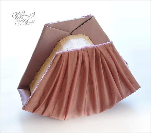 Сумочка букет из конфет мастер класс