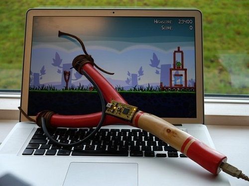 рогатка для Angry Birds