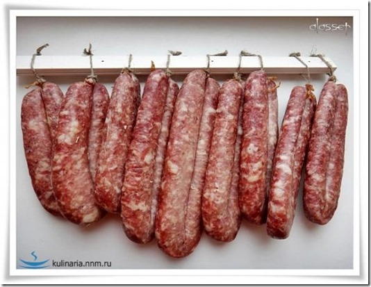 Хранение домашней колбасы в домашних условиях