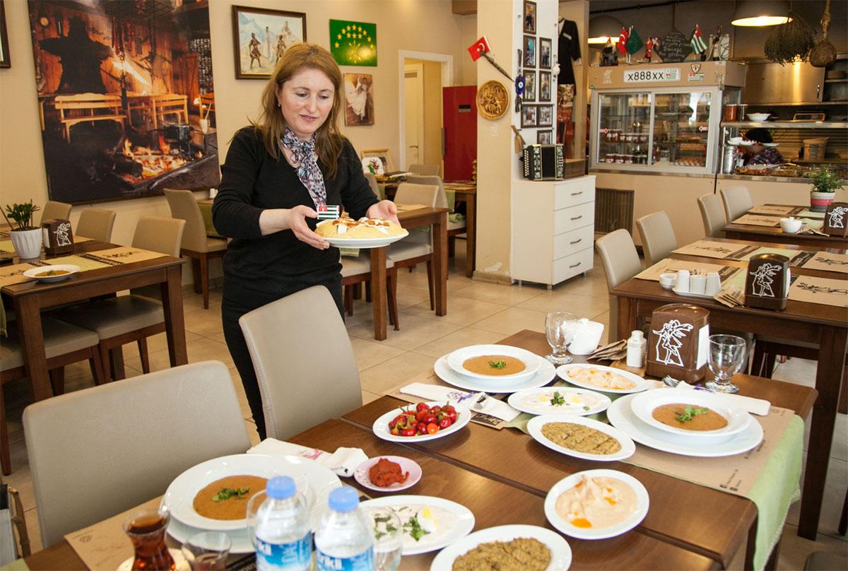Ресторан абхазской кухни в Сухуме